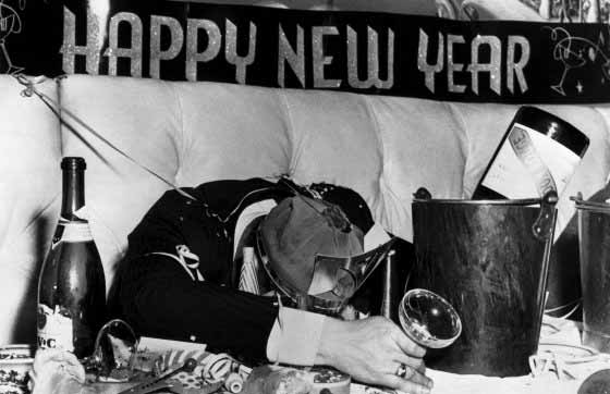 New Year's  Drunk