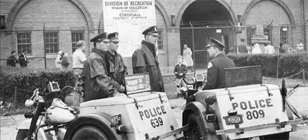 CPD at Eckersall Stadium, 1959