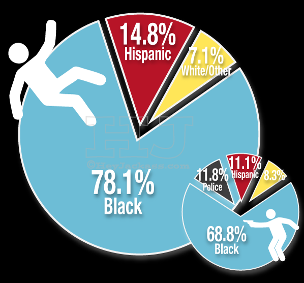 Chicago homicides by race of victim