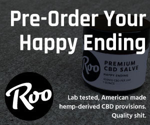 Help-derived CBD provisions from RooGoods