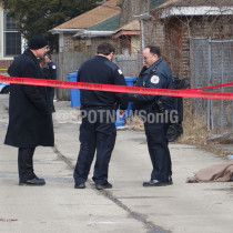 Homicide: 8100 S Chappel Ave. Photo by @SPOTNEWSonIG