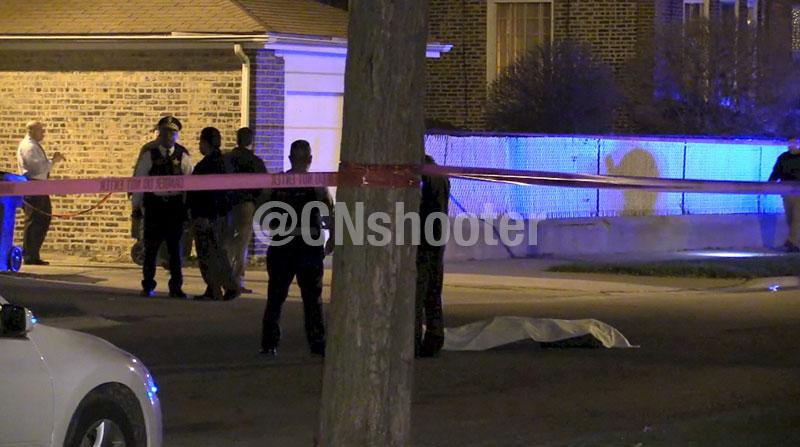 Police involved homicide: 7400 S Merrill