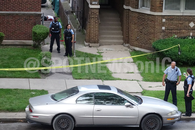 Chicago homicide: 7900 block of South Merrill Ave