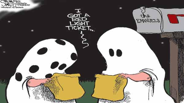A Rahm kind of Halloween
