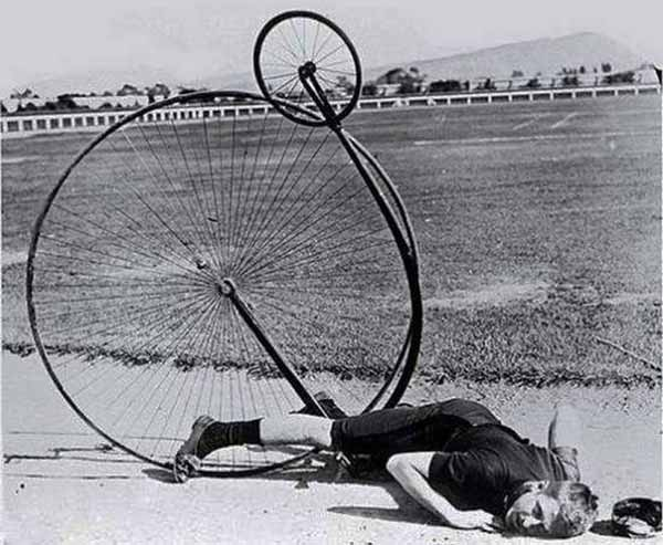 Penny Farthing Wipeout