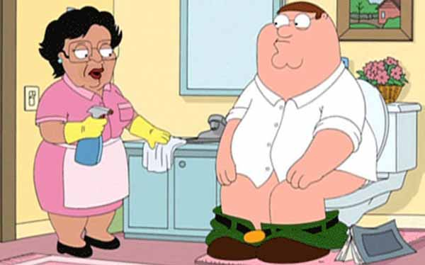 Family Guy: Peter and Consuela