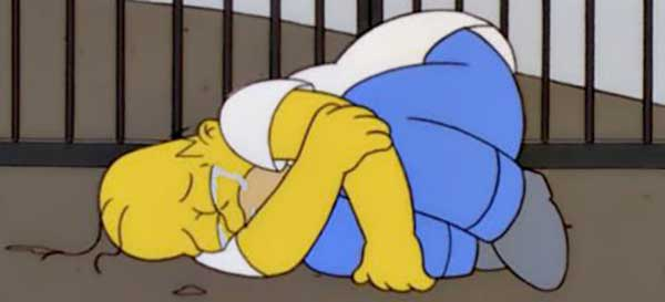 A Fetal Homer Simpson