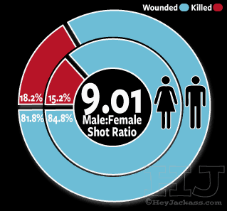2016 Chicago Homicide Gender of Victim
