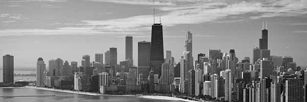 Chicago Skyline looking south