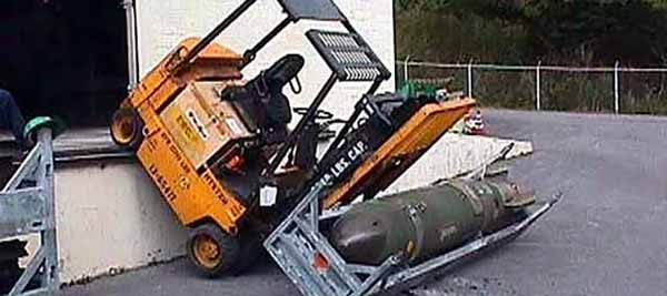 Forklift Fail