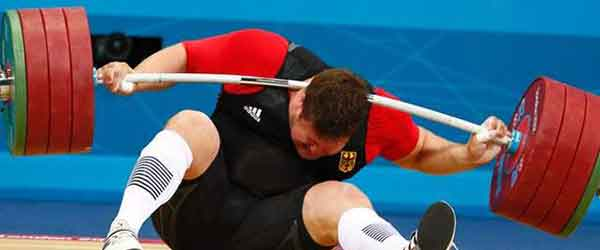 Olympic weightlifter fail