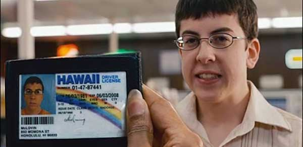 Superbad Fake ID
