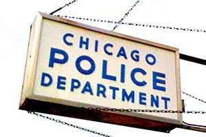 Chicago Police Department Sign
